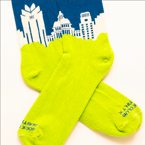 Austin Skyline sock - Sock Club